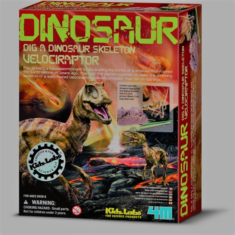 Dinosaurio para montar - DINO VELOCIRAPTOR
