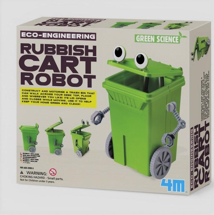 Robótica niños: Robot solar de la basura