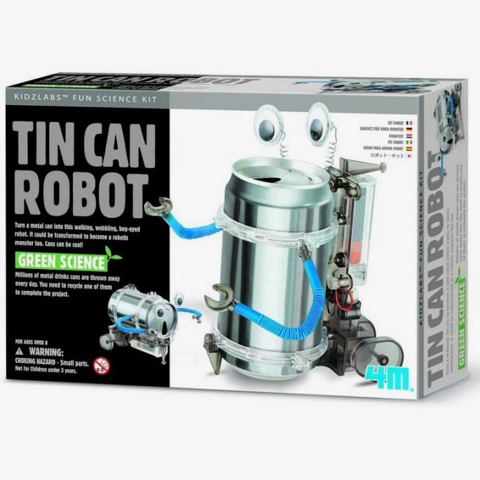 Robótica niños - Robot lata