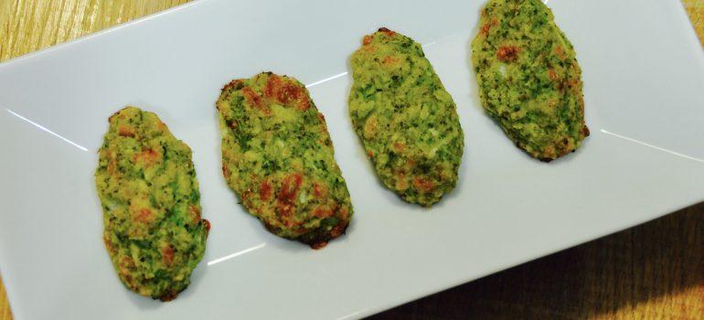 croquetas de brocoli al horno