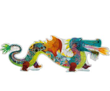 Puzzle gigante León el dragón DJECO