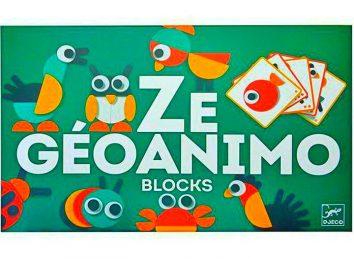 ZE GEOANIMO Blocks DJECO