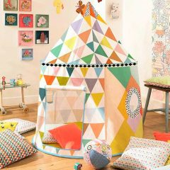 cabaña para niños