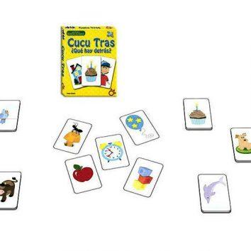 juego cartas memoria niños