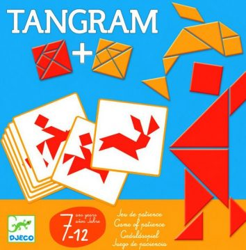 rompecabezas madera tangram