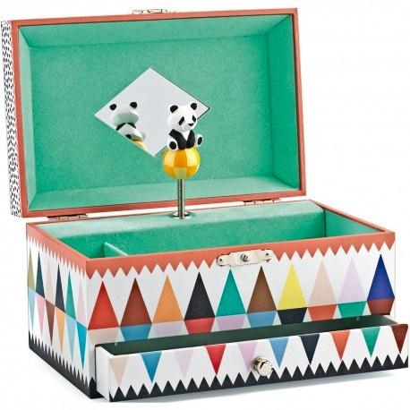 Caja de música panda Little Big Room de Djeco