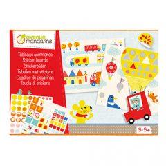 Caja creativa Cuadros de pegatinas de Avenue Mandarine