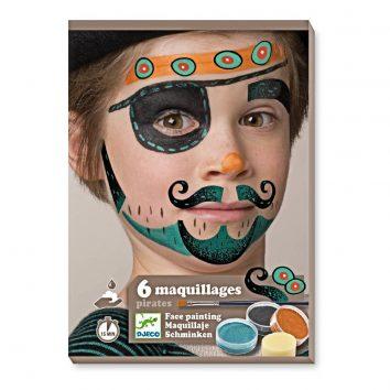Maquillaje para piratas de Djeco