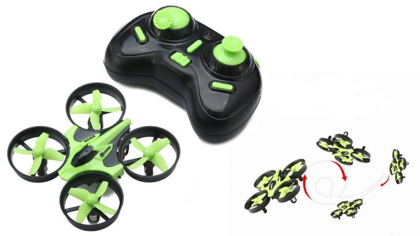 Mini Drone Eachine E010 Quadcopter Verde