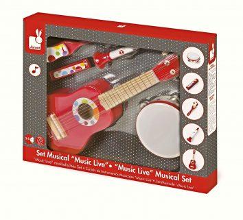 Conjunto musical Confetti Music Live