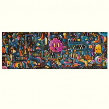 Puzzle monster wall 500 piezas djeco