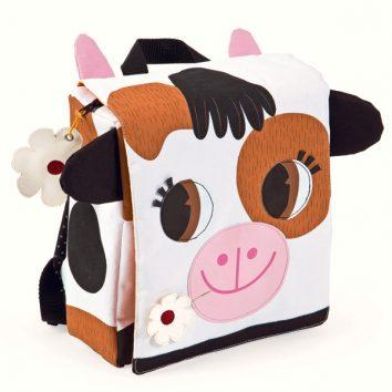 Mochila con forma de vaca de Janod