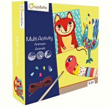 Caja creativa Multi actividades Animales de Avenue Mandarine