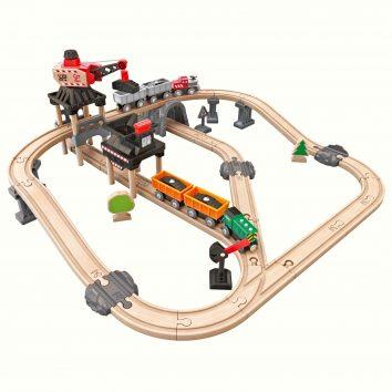 Circuito de tren Hape mina pequeño