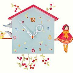 Reloj de pared infantil de Caperucita Roja