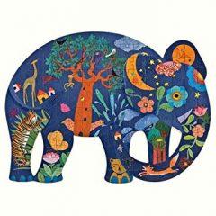 Puzz Art 150 piezas Elefante de Djeco