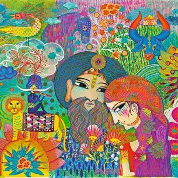 Puzzle Magic India 1000 piezas djeco