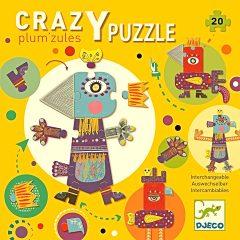 Crazy Puzle Plum´zules de Djeco