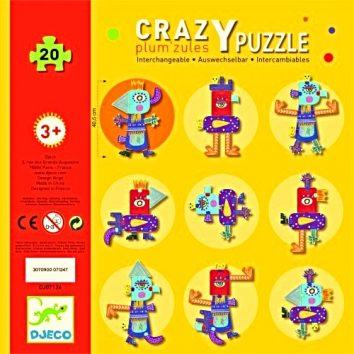 Crazy Puzzle plum zules Djeco