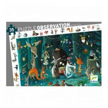 Puzzle observación la orquesta Djeco