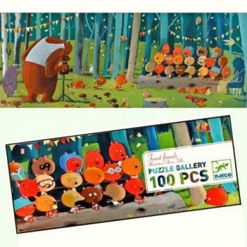 Puzle Galería Amigos del Bosque de Djeco