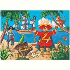 Puzle silueta El Pirata de Djeco
