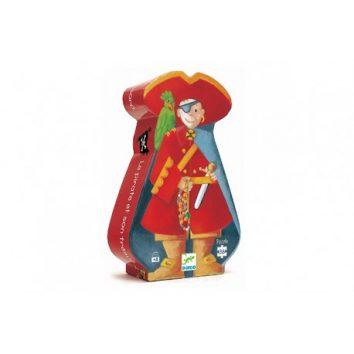 Puzzle silueta el pirata