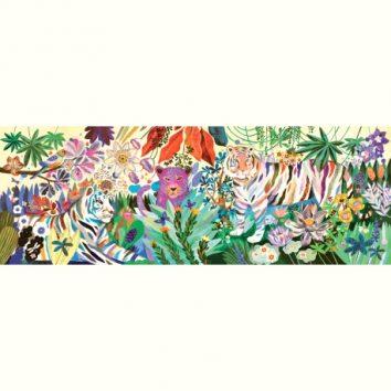 Puzzle Gallery Rainbow Tigers de Djeco