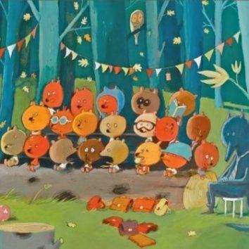 Puzzle galeria amigos del bosque 100 piezas