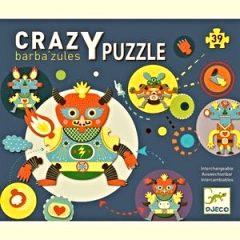 Crazy Puzle Barbazul de Djeco