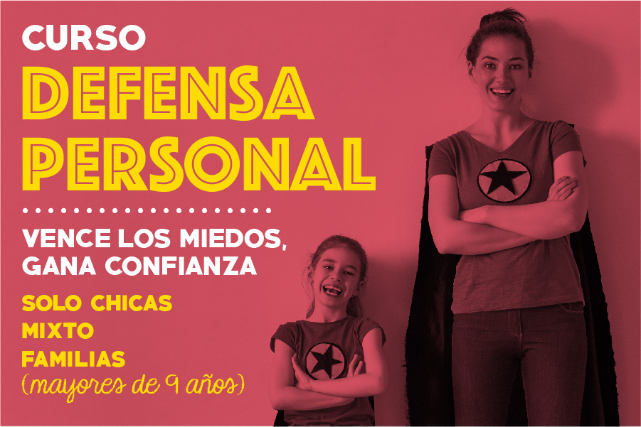 Curso de Defensa Personal en Getxo - Cerebrito Perez