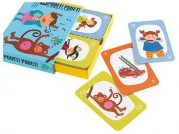 Juego de cartas Pouet! DJECO