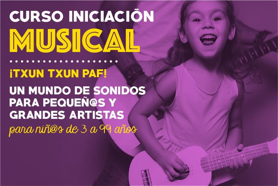 Curso de iniciación a la música en Getxo Bizkaia- Cerebrito Perez