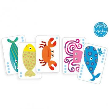 Juegos de cartas Bataplouf! DJECO