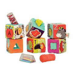 Abc block party Conjunto 6 cubos