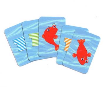Juego de cartas Spidifish DJECO