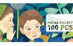 Puzzle Secretos 100 piezas Djeco