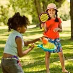 Juego de raquetas con ventosas de B.You