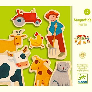 Magnéticos La granja Djeco