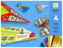 Papiroflexia Origami Aviones Djeco