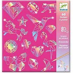 Pegatinas diamante para rascar