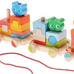 Primera Edad Creároule mi pequeño tren Djeco
