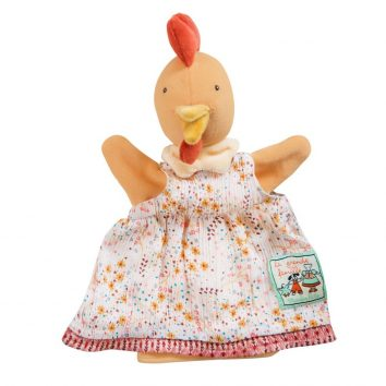 Marioneta Félicie (gallina) Moulin Roty