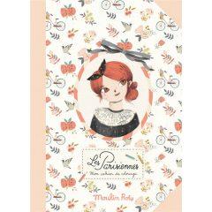 Cuaderno colorear Parisinas Moulin Roty