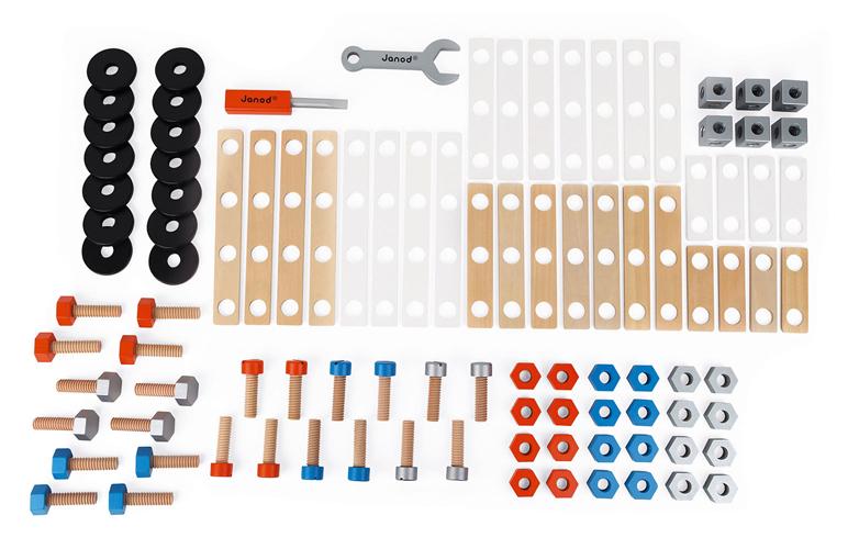 Barril de bricolaje de 100 piezas