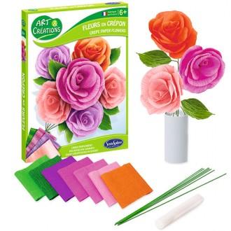 Crea flores con papel crepé Sentosphere
