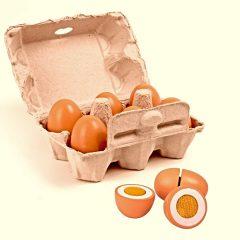 Set de seis huevos de Eurekakids