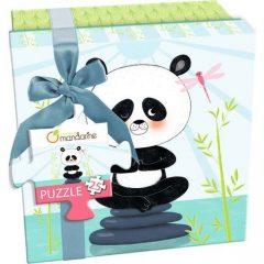 Puzzle oso panda Avenue mandarine