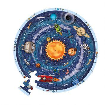 Puzzle esférico planetas