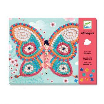 Mosaicos mariposas Djeco